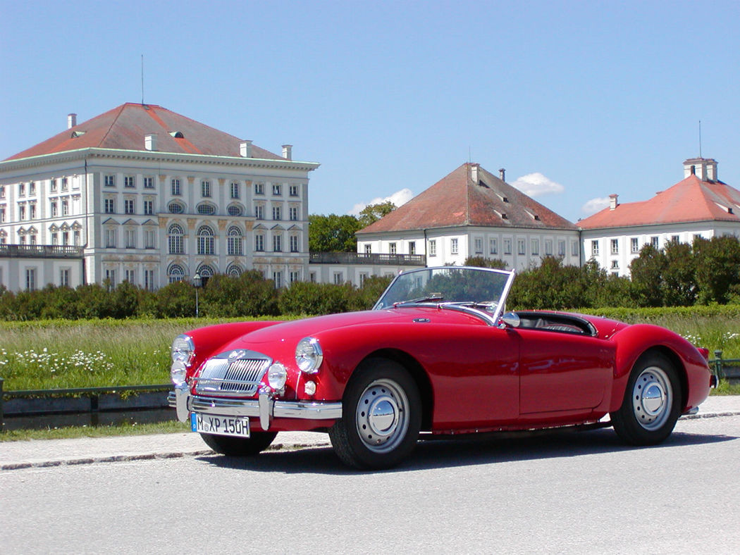 Oldtimer zum Selberfahren: MG A 1500 Foto: Classic Roadster München