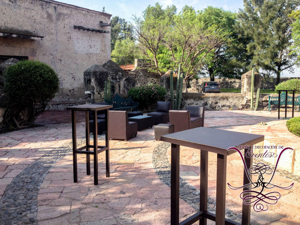 Periqueras y Salas Lounge cafe  L&L EVENTOS