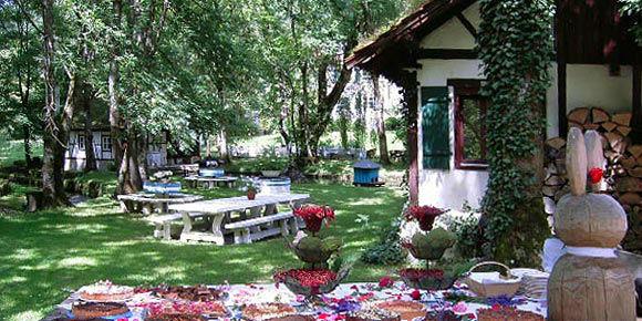Beispiel: Garten, Foto: Künkele Mühle.