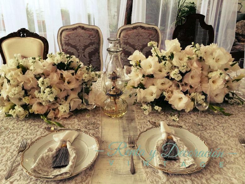 Decoración para mesas