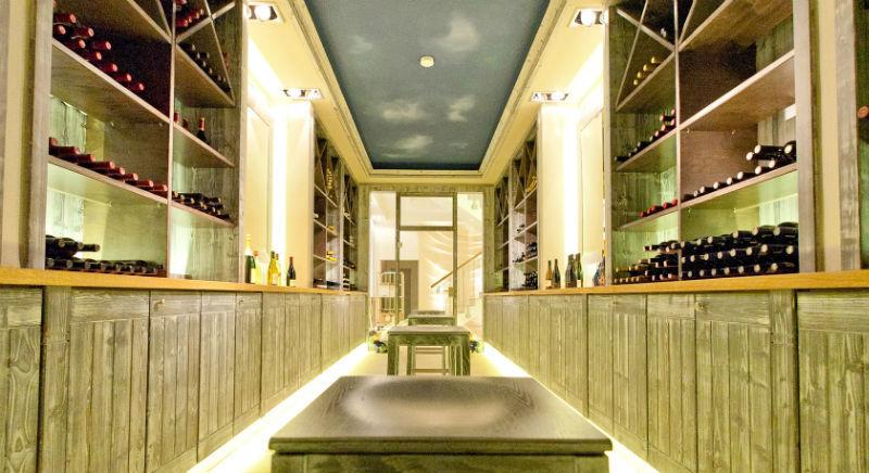 Beispiel: Weinsortiment, Foto: Borgböhmer's Waldesruh.