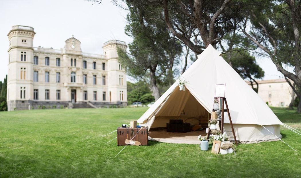 My wedding camping