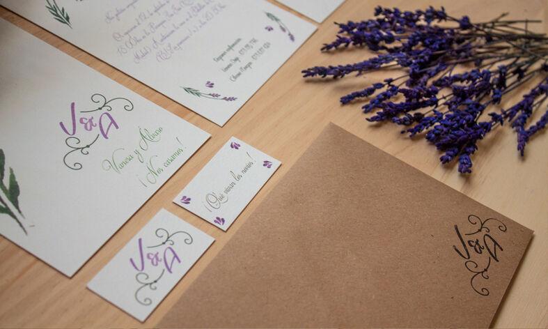 We Are. - invitaciones de boda. Diseño y Producción.