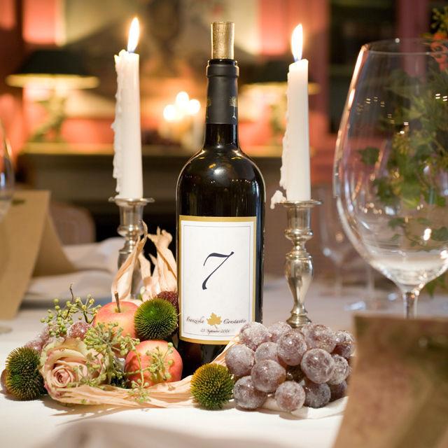 Beispiel: Dekoration für den Hochzeitstisch, Foto: Green Creation StyleStore.