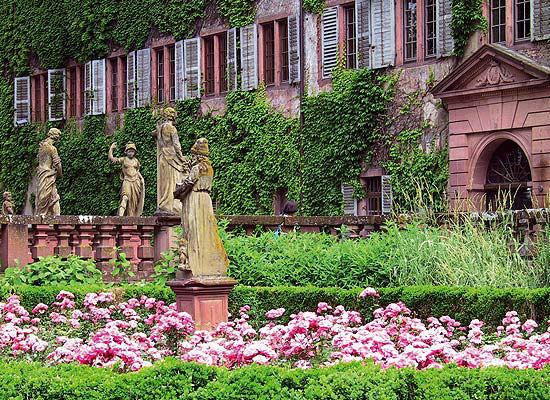 Beispiel: Abteigarten, Foto: Kloster Bronnbach.