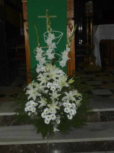 Decoración interior iglesia