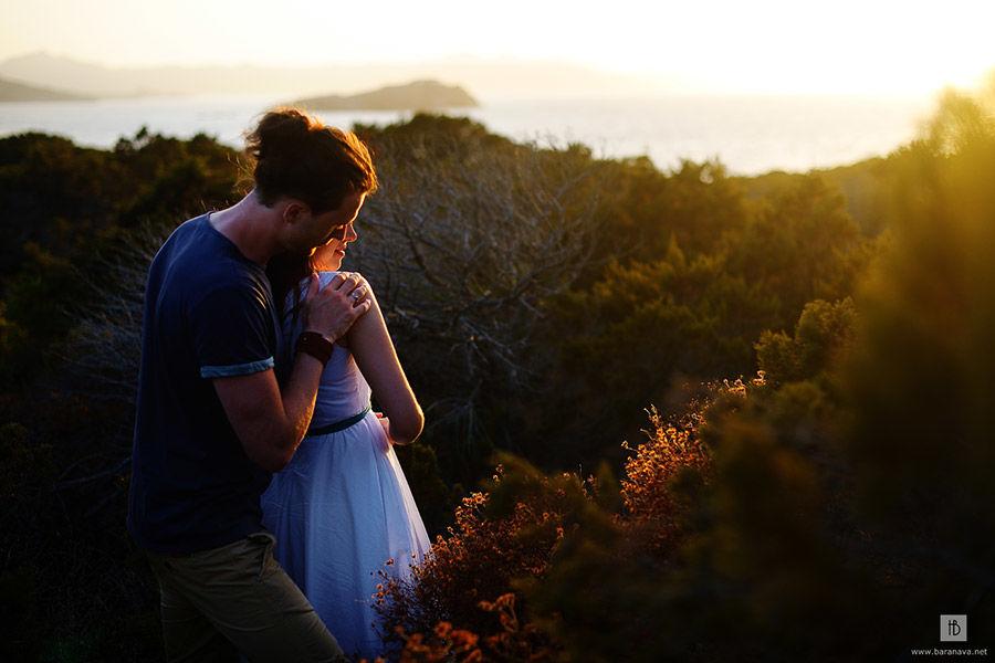 Романтическая фотосессия на Сардинии