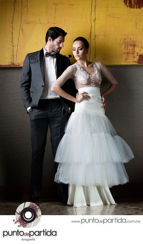 Mexico DF - JW Marriot - Trash the Dress - Sara + Daniel