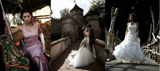 Beispiel: Brautmode, Foto: Abend- und Brautmoden Rusch.