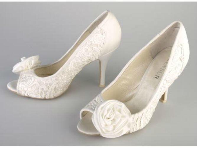 Beispiel: Schuhe für den schönsten Tag, Foto: Brandos.de.
