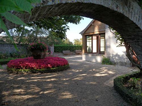 Jardin privatif de l'Orangeriedu château de Beaumesnil