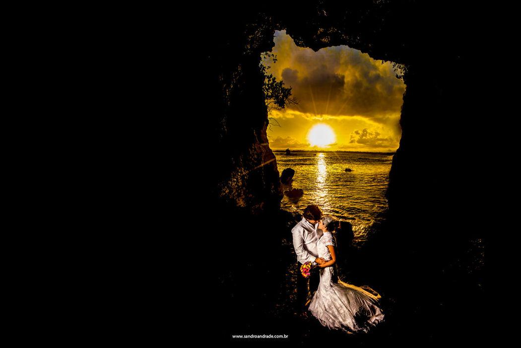 Casamento em Ipiaú-BA. Ensaio pós casamento Manuela e Ciro, Ilha na Baia de Camamu-Ba. Sandro Andrade Fotografia