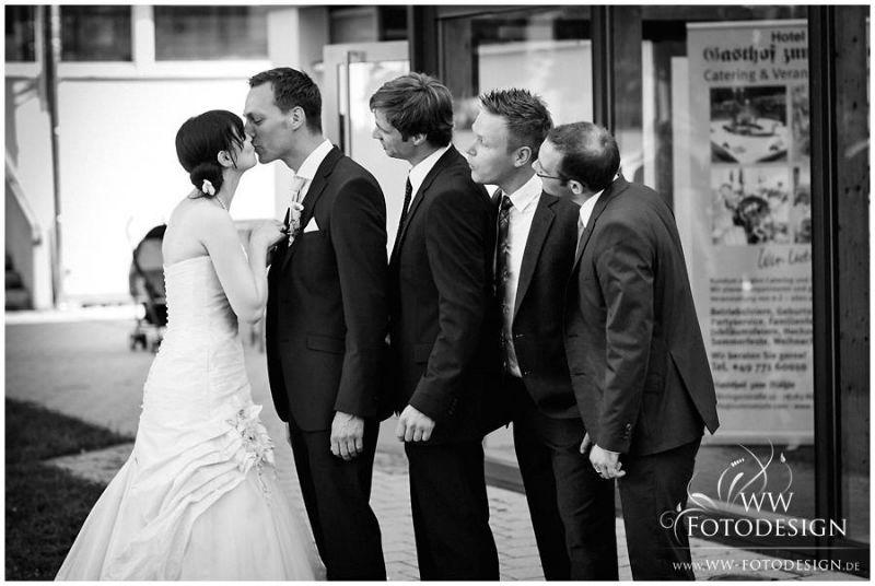 Beispiel: Hochzeitsreportagen, Foto: WW Fotodesign.