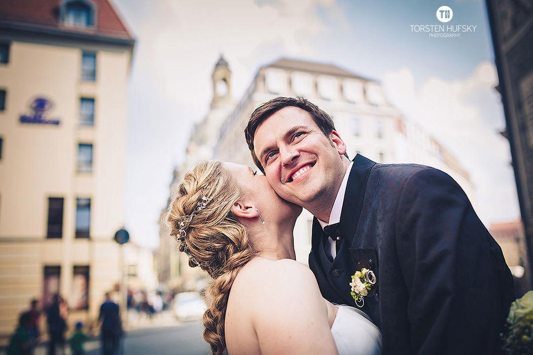 Beispiel: Brautpaar, Foto: Torsten Hufsky.