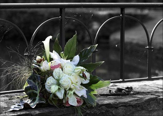 Beispiel: Blumendekoration, Foto: Schlosshotel Hugenpoet.