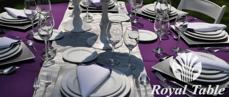 Catering profesional y renta de mobiliario para banquetes de boda - Foto Royal Table
