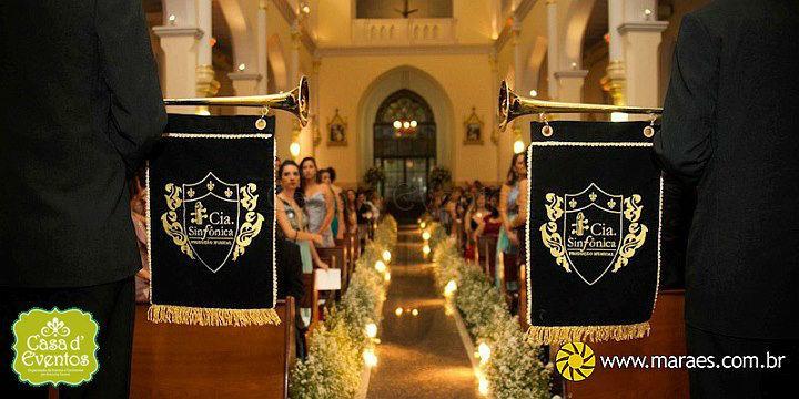 Cerminonial Casa de Eventos. Foto: Maraes