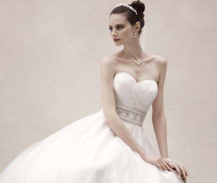 Beispiel: Brautkleid schlicht elegant, Foto: Noviamor.