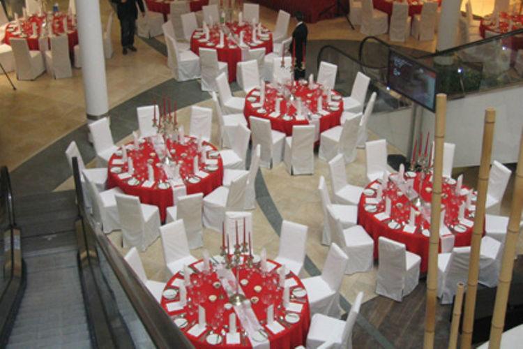 Beispiel: Hochzeitslocation, Foto: Agentur Deko Style Hochzeitsplanung.