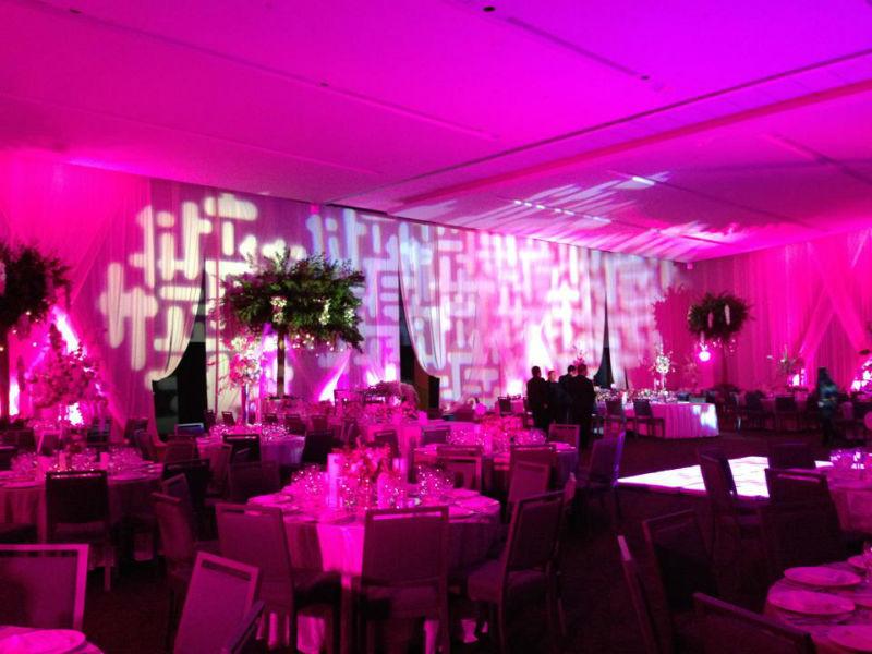 Luz y sonido para bodas, No Statics