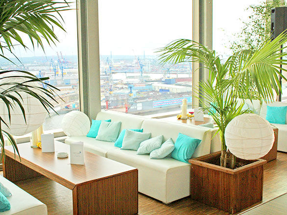 Beispiel: Location Penthouse Elb-Panorama, Foto:
