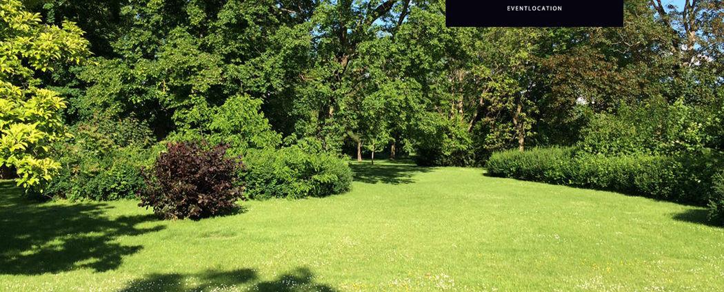 Beispiel: Der Garten des Hauses, Foto: Gutshof Ladenburg.