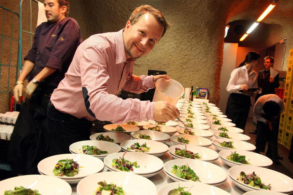 Vorbereitungen in der Küche, Foto: Exclusiv Catering.