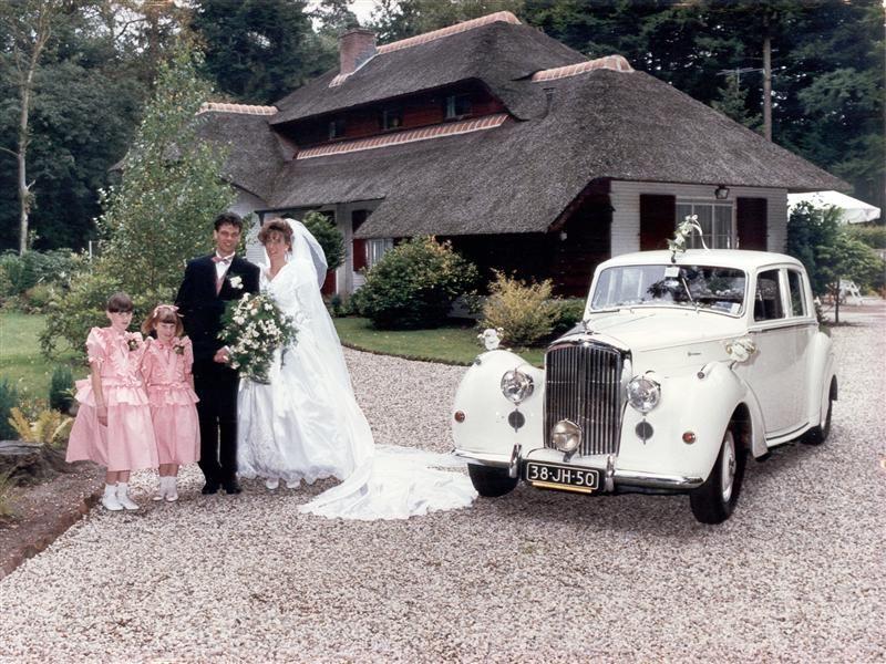 Tap trouwvervoer Bentley MK VI