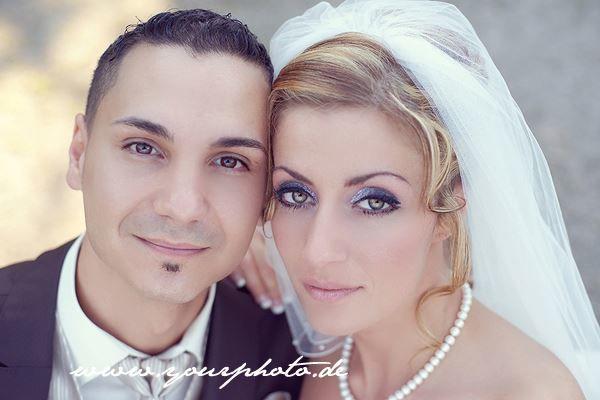 Beispiel: Brautpaar, Foto: yourphoto.