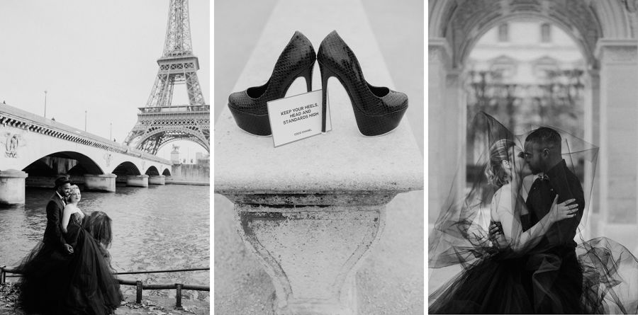Verlobungsshooting Paris, Frankreich
