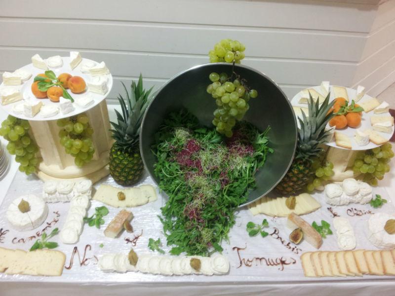 buffet de fromage
