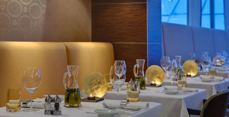Beispiel: Restaurant, Foto: Steinberger Esplanade.