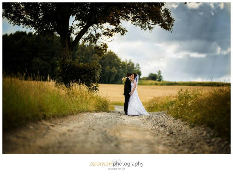 Beispiel: Professionelle Hochzeitsfotografie, Foto: Colorwork Photography.