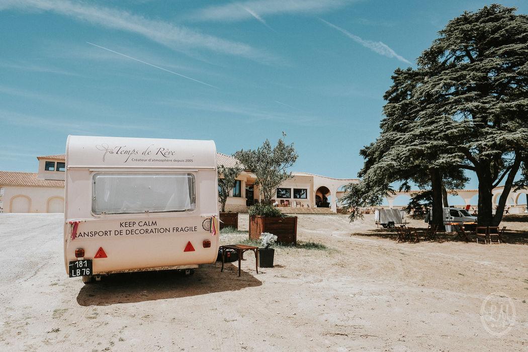 Repetta en mode déchargement au bout de La Clape Photos : Studio Lm for life