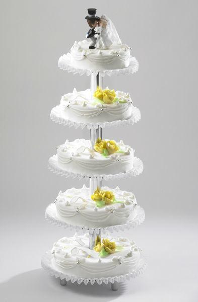 Beispiel: Hochzeitstorte: Tradition, Foto: Mandelbärli.