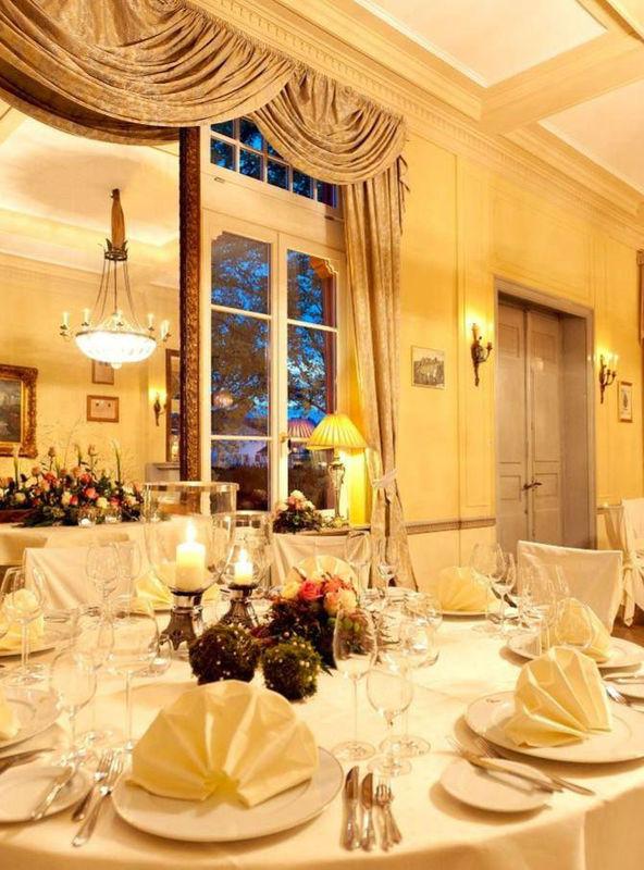 Beispiel: Eindruck von den Räumlichkeiten, Foto: Weinromantikhotel Richtershof.