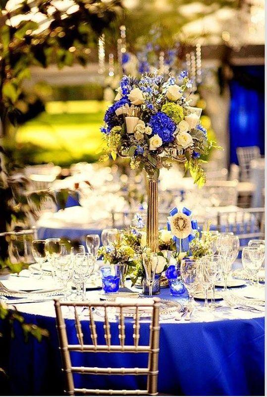 Centros de mesa espectaculares para la decoración de tu Boda.