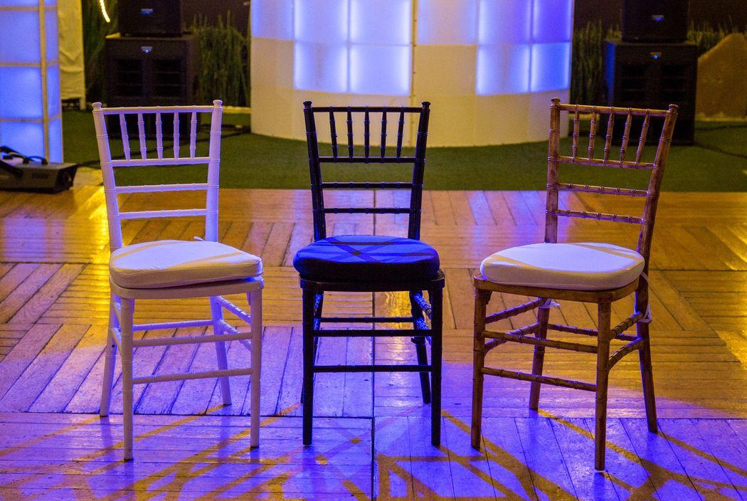 Originalidad en cada silla!