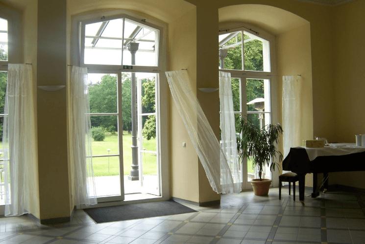 Beispiel: Gartensaal, Foto: Eventkirche Schloss Kröchlendorff.
