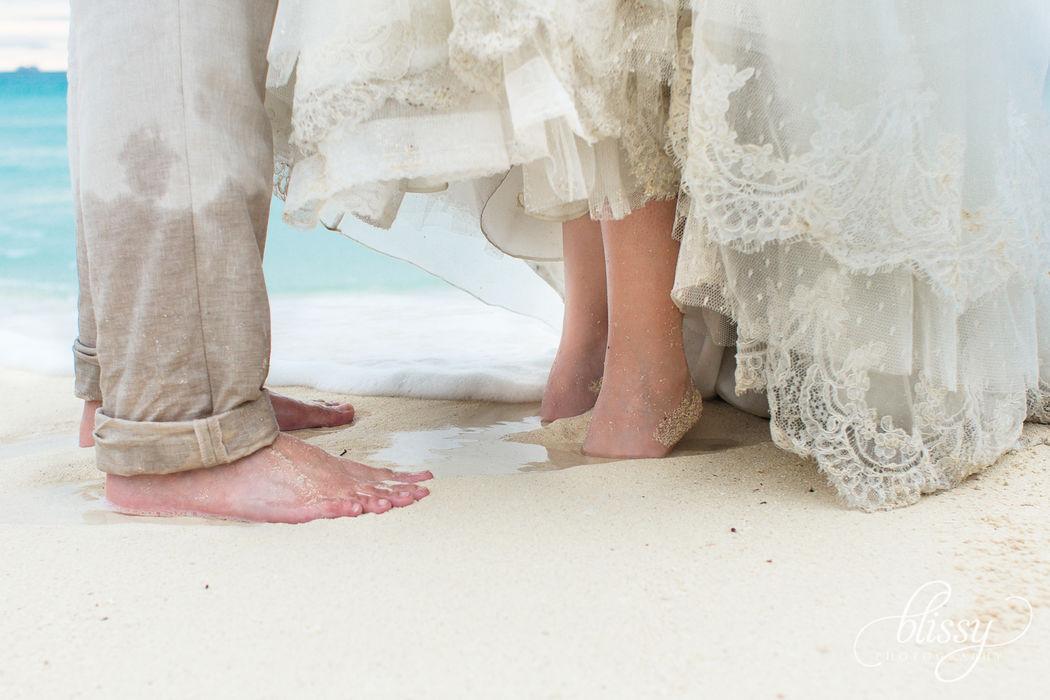 Trash The Dress en la playa. Riviera Maya