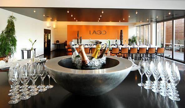 Beispiel: Sektempfang, Foto: Lago Hotel & Restaurant.