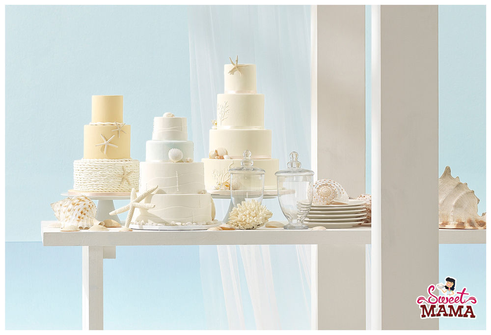 Tartas de boda para el catálogo de Aire Barcelona.