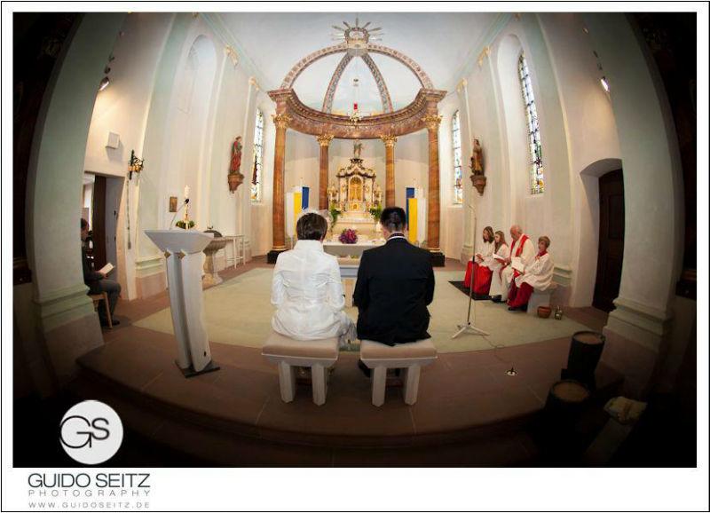 Beispiel: Fotos von der Trauzeremonie, Foto: Guido Seitz Photography.