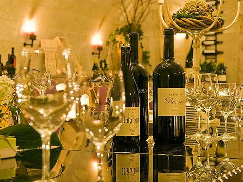 Beispiel: Edler Wein, Foto: Hotel Vila Vita Pannonia.