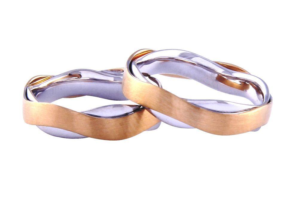 Alianças Casamento Bicolores ALBIC132