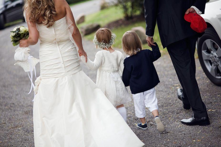 Nach der kirchlichen Trauung, Foto: Christian Krüger, Hochzeitslicht für Engel 07