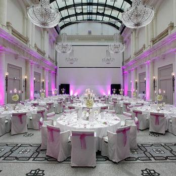 Beispiel: Festsaal, Foto: Hotel de Rome.