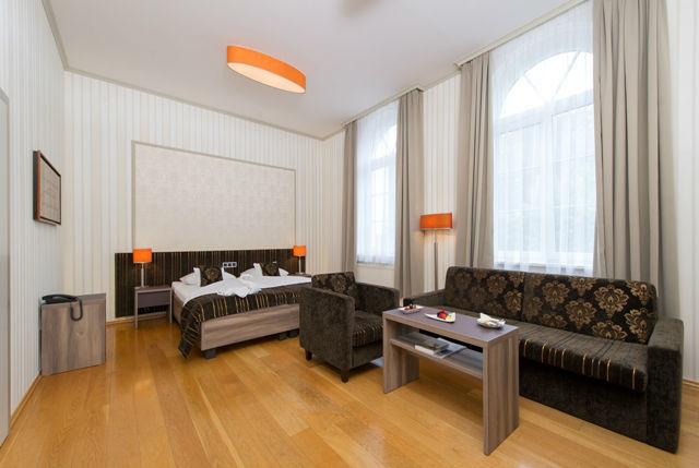 Beispiel: Hotelzimmer, Foto: Romantik Hotel Dorotheenhof.