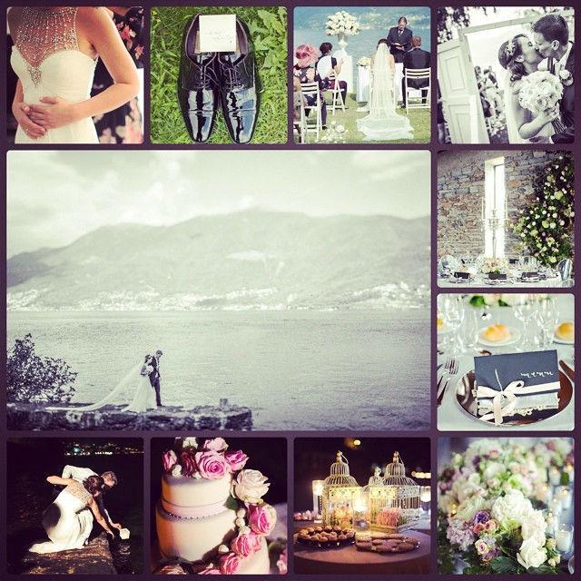White Notes Wedding Como