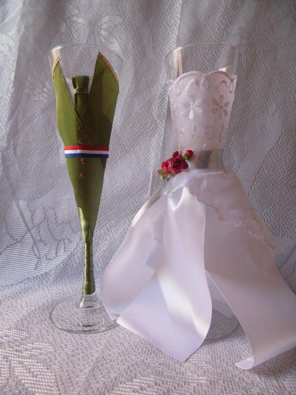 Copas vestidas carabinero